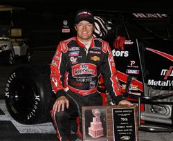 AMSOIL Western States Sprint Car Series Champion Tony Hunt