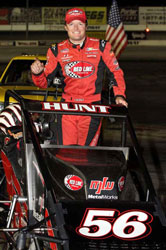Tony Hunt plans to primarily compete in the USAC Western Classic Series during the upcoming season.