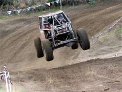 Buggy jumps ripped up the 2.6 mile course in the Second Annual Rock Race
