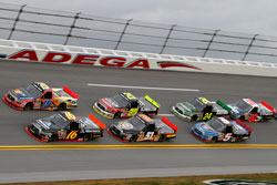 TRD engineered and built the V-8 powered Toyota Tundra engines for the NASCAR Craftsman Truck Series