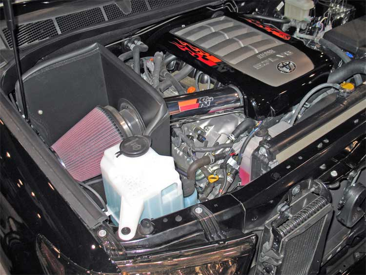 2008 Toyota Tundra with K&N Performance Air Intake Big Hit at SEMA