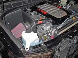 K&N air intake system (77-9031-1KP)