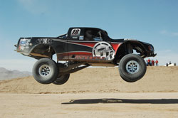 TrailReady Motorsports teamed up with Tracy Rubio and TNC Machine and moved up from the Mini-Unlimited Truck class to a state-of-the-art Trophy Truck