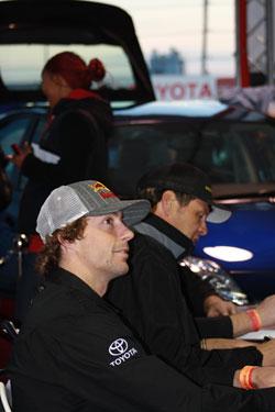 NASCAR K&N Pro Series Racer Travis Pastrana