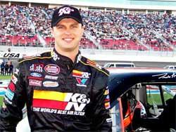 Travis Kvapil is third in NASCAR Craftsman Truck Series Points