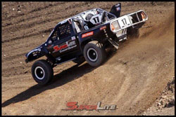Briley announced his 2012 SuperLite intentions by winning the opening round of the Lucas Oil Regional Off Road Race Series at Glen Helen Raceway.
