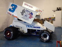 Willie Croft's Tri-C Machine No. 3c Sprint Car
