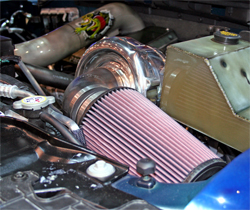 K&N air filter is part of the specifications on the 2009 Ford F-150 Freedom Truck