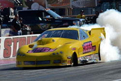Troy Coughlin's win in Vegas earned the Coughlin family their milestone 100th NHRA victory