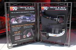 K&N Truck and SUV Intakes Display