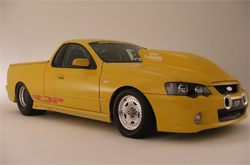 2007 Twin Turbo Ford XR8 Ba Falcon Ute Modified by RDP Motorsport