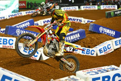 AMA Supercross Racer Vince Freise of TUF Racing