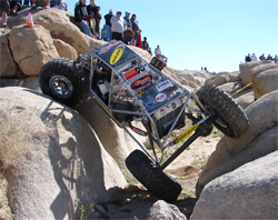 Extreme Rock Crawlers Team Waggoner Racing has competed in seventeen championship WE ROCK Series