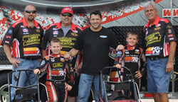 CRI drivers Tyler Clem and Michael Atwell are developmental drivers for Stewart-Haas Racing, the NASCAR racing team owned by Tony Stewart and Gene Haas.