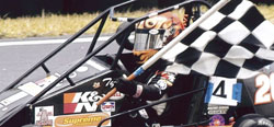 Tyler Clem, the checkered flag lap is becoming increasingly more familiar.
