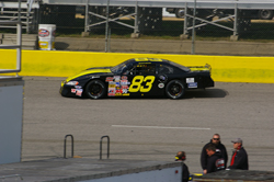 Tyler Hughes finished 11th in the Late-Models race at the Southern National Motorsports Park