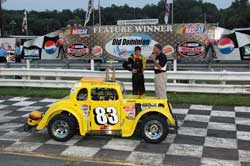 After winning the Old Dominion Speedway Legends Points Championship, Tyler Hughes is already looking forward to the 2012 season.