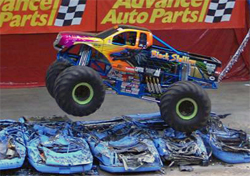 Black Stallion will next compete in Monster Jam at the Quicken Loans Arena in Cleveland, Ohio