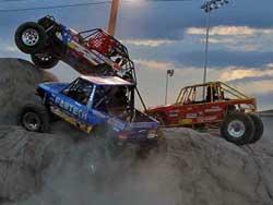 Team Stumph drove over Team Lovell at UROC