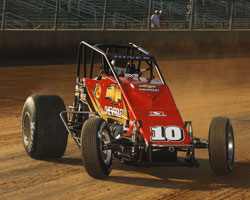 USAC Midget Sprint Car Driver Levi Jones