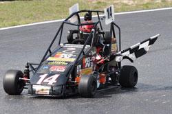 #14 USAC Midget Sprint Car