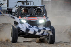 Crowley and Van de Loo finished only 16 seconds behind the leader at the HCR King of the Hammers Race