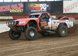 Dan Vance is undefeated in the M4SX Series presented by Mickey Thompson and KalGard Lubricants