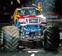 Michael Vaters is continually designing and improving truck parts for the Monster Jam Circuit
