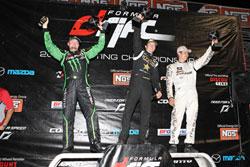 Vaughn Gittin Jr. gets Podium finish at Round 7 of the Formula Drift Professional Championship