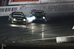 Vaughn Gittin Jr. has taken to the podium six times out of the seven rounds.