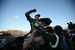 Vaughn Gittin Jr. took 2nd place at Irwindale Speedway