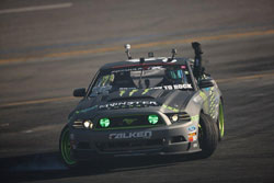 The Round 4 Formula Drift win and 2nd place qualifying moves Gittin into 4th place overall in the championship.
