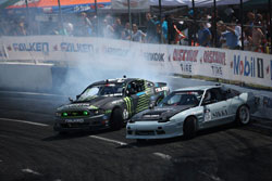The Monster Energy Falken Tire 2013 Ford Mustang RTR devoured all that got in the way of victory.