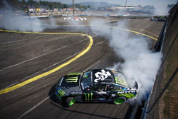Although a transmission failure ended his run in round 5, Vaughn Gittin Jr. still made a big move forward in the overall championship points race.