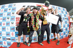 The win in Luoyang was the RTR Drift Team's second event in a row at WDS in China - Photo by Larry Chen
