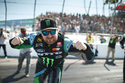 Vaughn Gittin Jr. is pumped about heading into the second round of Formula Drift season, he's confident that he is driving the best Ford Mustang RTR he's ever had this year.