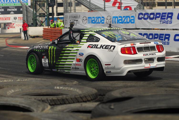 Vaughn Gittin Jr Wins At Formula Drift In His Monster Energy