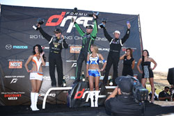 Vaughn Gittin wins Formula Drift Round 6 at Infineon Raceway.  Photo By: Larry Chen of Driftfotos.com