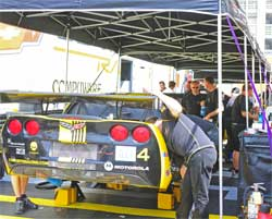 High tech tools help Corvette Racing with new track configuration at Lime Rock Park
