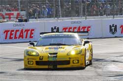 Corvette Racings Compuware Corvette C6.Rs will use maximum technology during practice for the American Le Mans Northeast Grand Prix