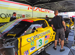Drivers Johnny O'Connell and Jan Magnussen will continue to drive in the No. 3 Compuware Corvette C6.R along with Antonio Garcia