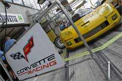 Corvette Racing finished second and third in the GT1 class in the 24 Hours of Le Mans