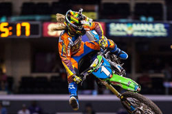 At the 2012 X Games Vickie Golden won her second Women's Motocross gold.