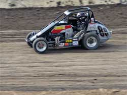 Cody Swanson at Victorville Speedway