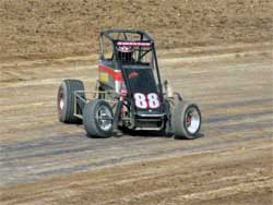 K&N sponsored Swanson enjoyed his practice session
