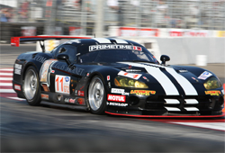 Primetime's GT2 Dodge Viper delivers fast lap of the race on Road America Circuit in Wisconsin