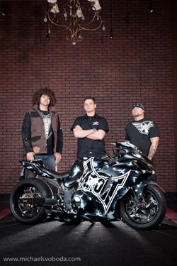 (left to right) Skyscrape, Uecker and Punkass model with TapouT custom