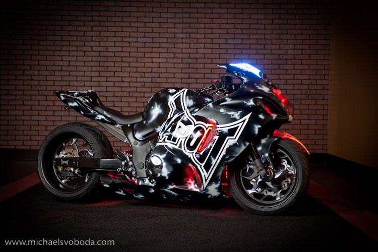 Voodoo Custom Sportbikes Creates Tapout Special Then
