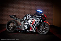 One of only two TapouT bikes on the entire planet