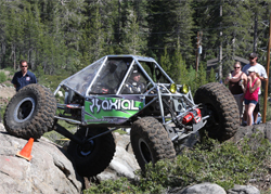 Team Waggoner of Capistrano Beach, California earns its 22nd career first place win at Cal ROCS event near Lake Tahoe, California